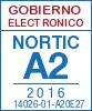 Sello de certificación de la A2:2016 con el NIU 14026-01-A20E27